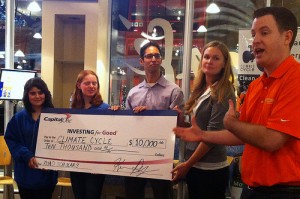 Capital One Check Presentation © E.J. Rublev