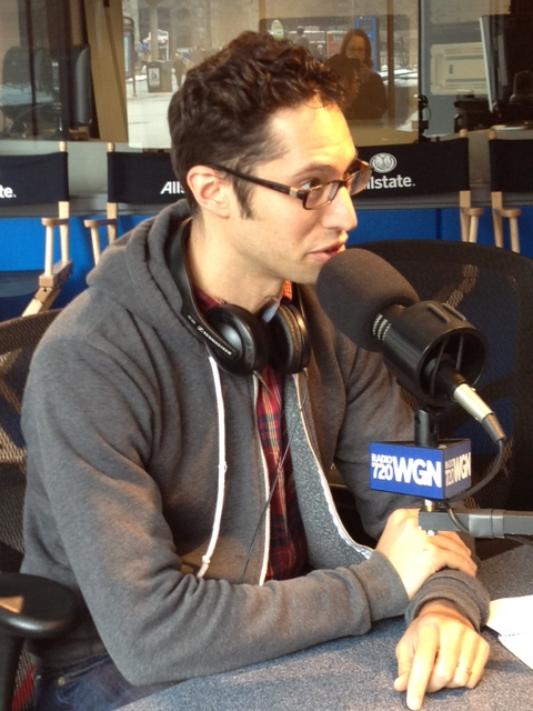 Joey Feinstein talks Climate Cycle on WGN Weekend with Bill Moller. © WGN Radio